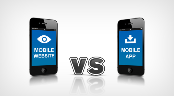 mobile app and mobile website